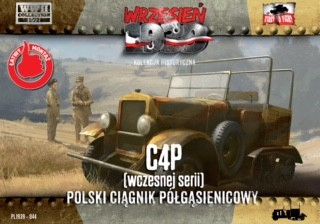 Image 0 of First To Fight Models 1/72 C4P Polish Artillery Early Production Halftrack Tract