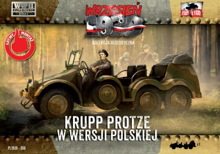 Image 0 of First To Fight Models 1/72 WWII Krupp Protze Polish Army Version Truck