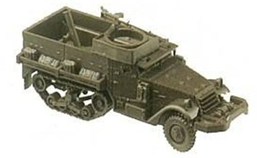 Herpa Minitanks /87 M21 Halftrack w/Mortar