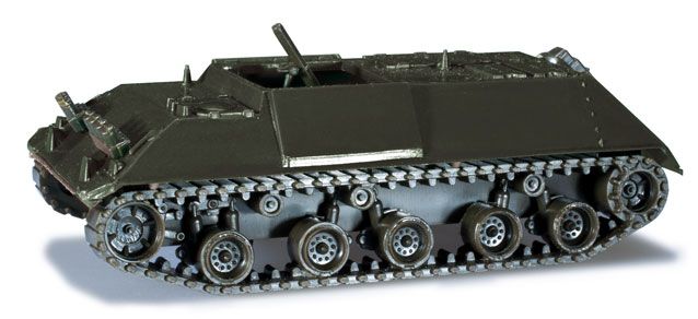 Herpa Minitanks 1/87 HS30 Morser German Army Tank