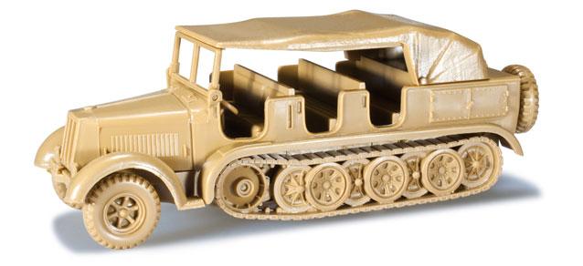 Herpa Minitanks 1/87 Krauss Maffei Type 8 Halftrack