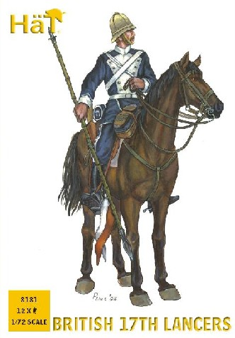 Hat 1/72 17th Century British Lancers (12 Mtd) (Re-Issue)