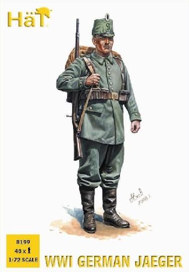 Image 0 of Hat 1/72 WWI German Jaegers (48)