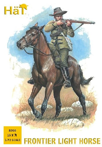 Hat 1/72 Frontier Light Horseman (15 Mtd) (Re-Issue)