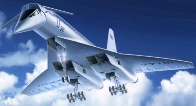 ICM Models 1/144 Tupolev 144 Charger Soviet Supersonic Passenger Airliner