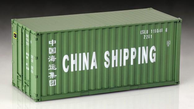 Italeri 1/24 20' Shipping Container