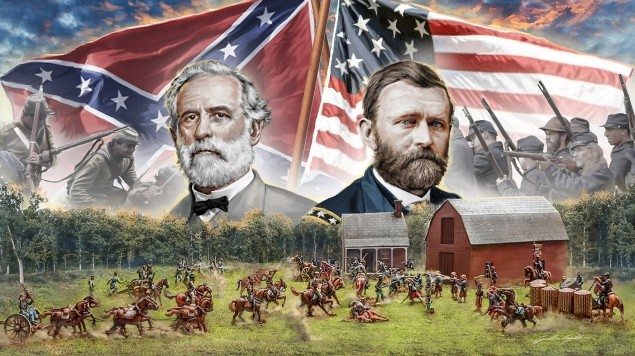 Image 0 of Italeri 1/72 American Civil War 1864 Farmhouse Battle Diorama Set
