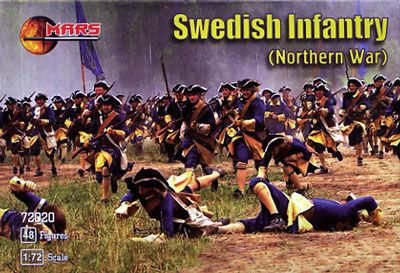 Mars Figures 1/72 Northern War Swedish Infantry (48)