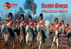 Mars Figures 1/72 Napoleonic War Scots Greys (15 Mtd)