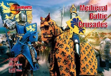 Mars Figures 1/72 Medieval Baltic Crusades (36 w/4 Horses)
