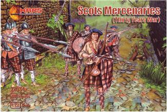 Mars Figures 1/72 Thirty Years War Scots Mercenaries (48)
