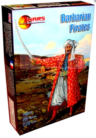 Mars Figures 1/72 Barbarian Pirates (48)