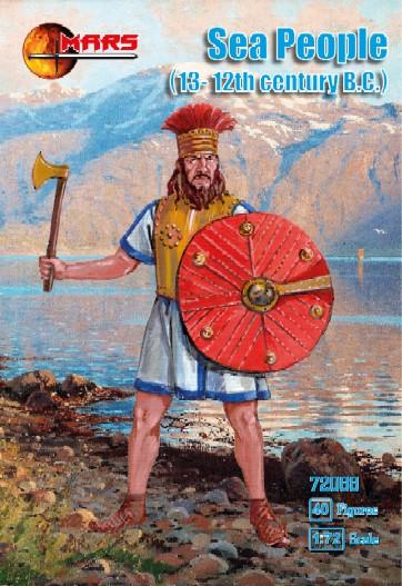 Mars Figures 1/72 13-12th Century BC Sea People (40)