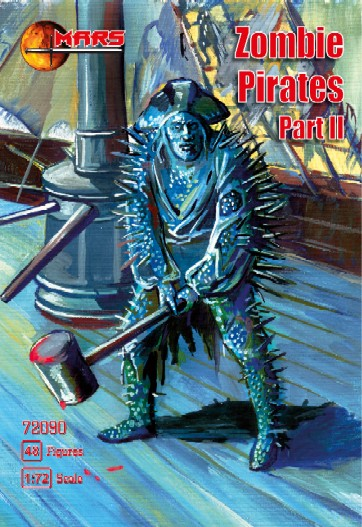 Mars Figures 1/72 Zombie (Mutant) Pirates Part II (48)
