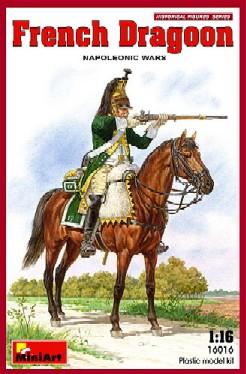 Miniart Models 1/16 Napoleonic Wars French Dragoon
