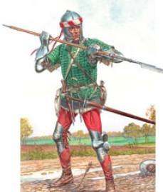 Miniart Models 1/16 Medieval Foot Soldier