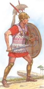 Miniart Models 1/16 Etruscan Hoplite III Century BC