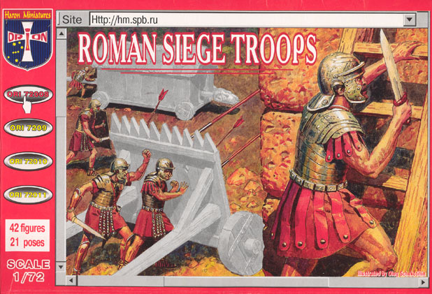 Orion Figures 1/72 Roman Siege Troops (42)
