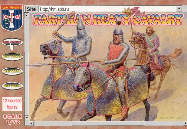 Orion Figures 1/72 Parthian Heavy Cavalry (12 Mtd)