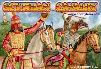 Orion Figures 1/72 Scythian Cavalry VII-IIBC (12 Mtd & 1 Foot)