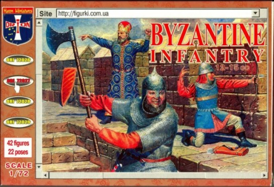 Orion Figures 1/72 Byzantine Infantry (42)