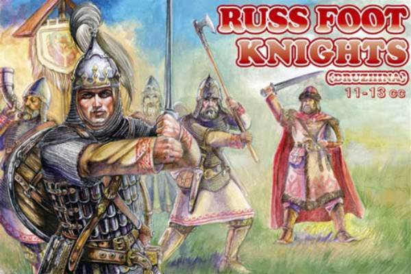 Orion Figures 1/72 Russ Foot Knights XI-XIII Century (48)
