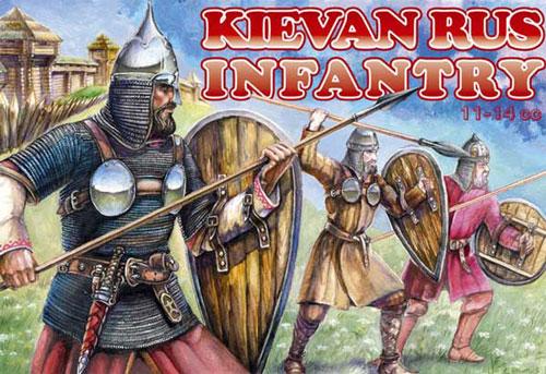 Orion Figures 1/72 Kievan Rus Infantry XI-XIV Century (52)