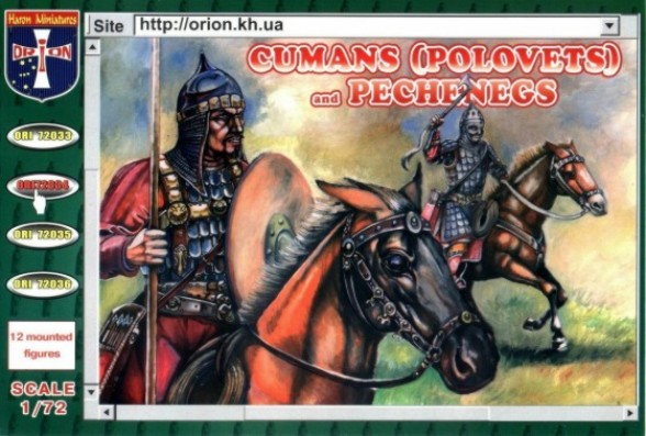 Orion Figures 1/72 Cumans (Polovets) & Pechenegs (12 Mtd)