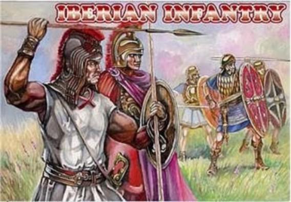 Orion Figures 1/72 Iberian Infantry (48)
