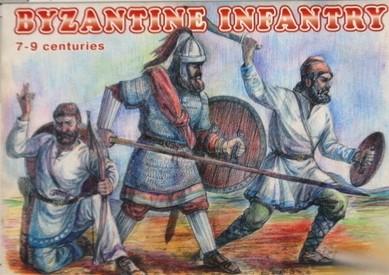 Orion Figures 1/72 Byzantine Infantry VII-IX Century (48)