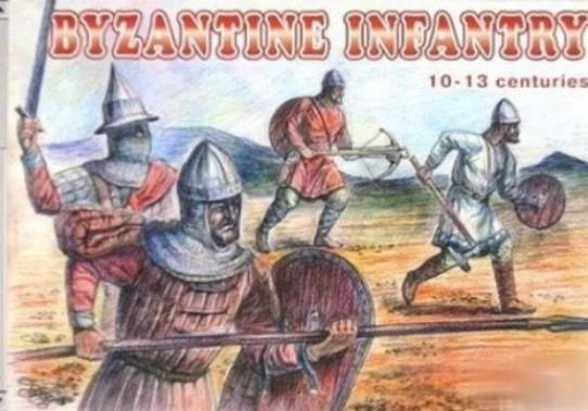 Orion Figures 1/72 Byzantine Infantry X-XIII Century (48)
