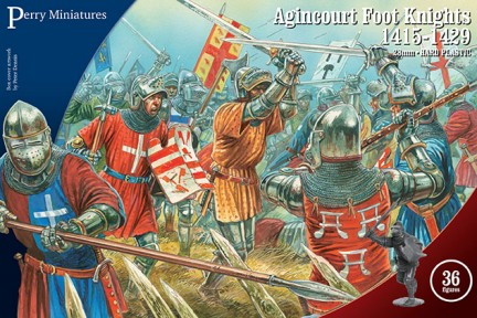 Perry Miniatures 28mm Agincourt Foot Knights 1415-1429 (36) 803