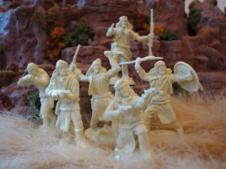 Image 0 of Paragon Miniatures 1/32 Apache Indians Figure Set #2 (12) (Boxed)