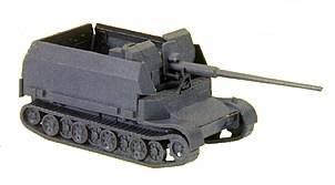 Herpa Minitanks 1/87 Grille Tank w/88mm AA Gun