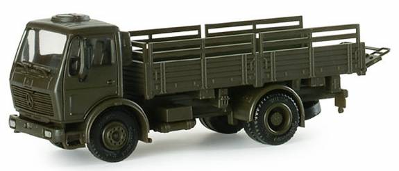 Herpa Minitanks 1/87 DB LKW 5-Ton German Army Stake-Body Cargo Truck