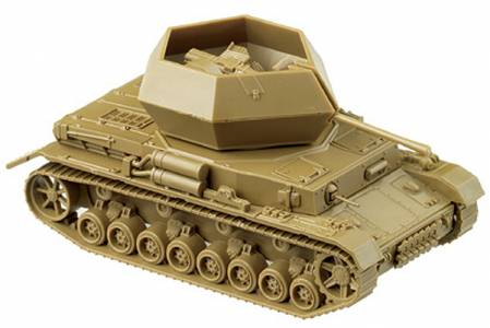 Herpa Minitanks 1/87 Flakpanzer 4 Ostwind Tank w/Self-Propelled AA Gun (Tan)