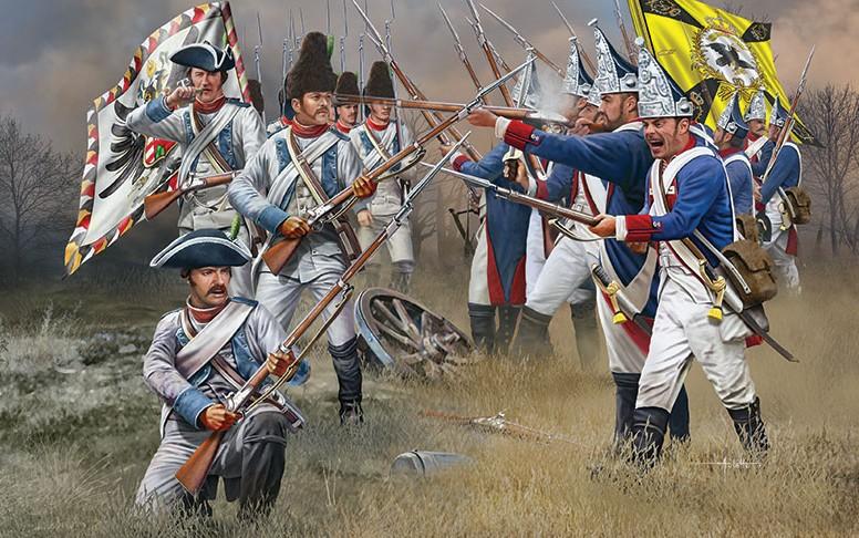 Revell of Germany 1/72 7-Years Wars Austrian & Prussian Infantry (95) (Ltd)