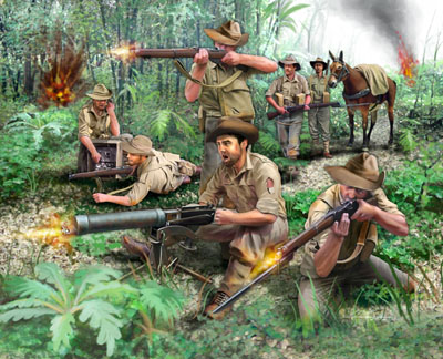 Image 0 of Revell 1/76 WWII Anzac Infantry (42)