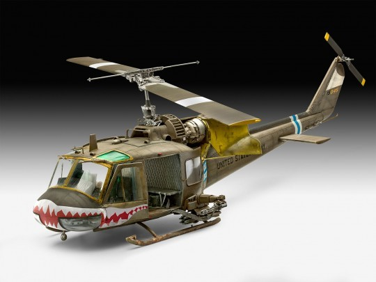 Revell of Germany 1/35 Bell UH1C Helicopter