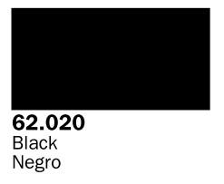 Vallejo Paints 60ml Bottle Black Premium