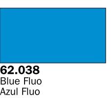Vallejo Paints60ml Bottle Fluorescent Blue Premium