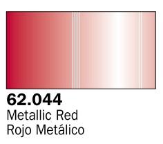 Vallejo Paints 60ml Bottle Metallic Red Premium