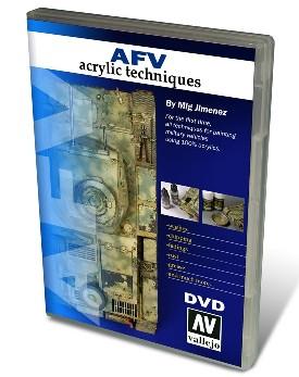 Vallejo Paints AFV Acrylic Techniques (NTSC) DVD
