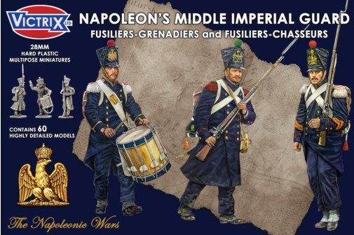Victrix LTD Figures 28mm Napoleon's Middle Imperial Guard (60)