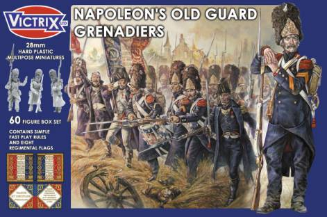 Victrix LTD Figures 28mm Napoleon's Old Guard Grenadiers (60)