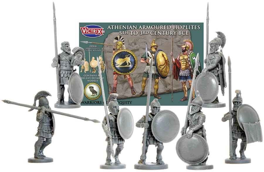 Victrix LTD Figures 28mm Athenian Armored Hoplites 5th-3rd Century BCE (48)
