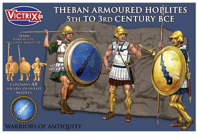 Victrix LTD Figures 28mm Theban Armored Hoplites 5th-3rd Century BCE (48)