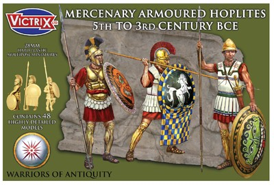 Victrix LTD Figures 28mm Mercenary Armored Hoplites 5th-3rd Century BCE (48)