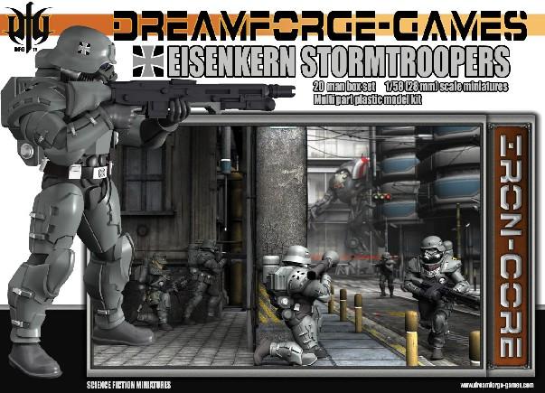 Wargames Factory 28mm Dream Forge Games: Eisenkern Stormtroopers (20)