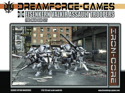 Wargames Factory 28mm Dream Forge Games: Eisenkern Valkir Assault Troopers (5)